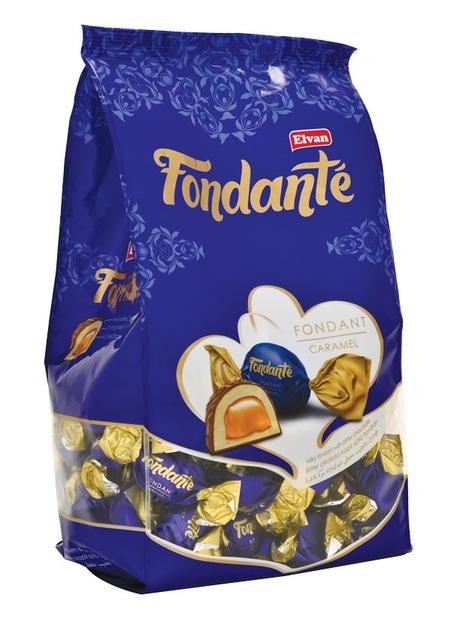تصویر شکلات فوندانت کارامل 1 کیلو