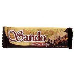 تصویر ویفر ساندو شکلاتی