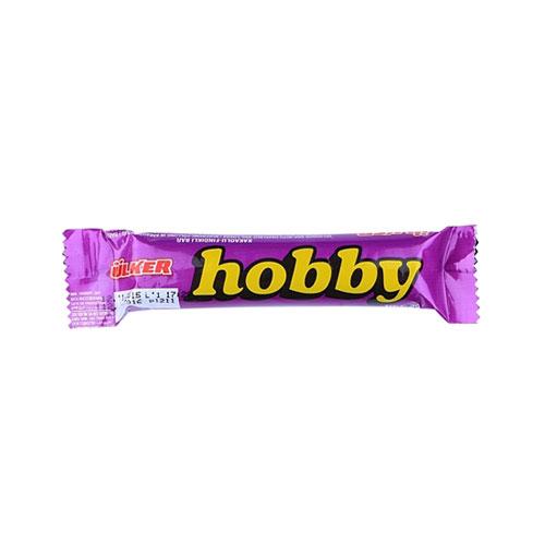 تصویر شکلات خالص هوبی مغز دار