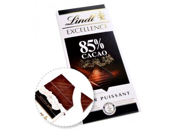 تصویر شکلات لینت تلخ 85%