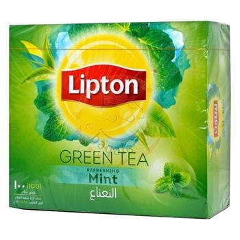 تصویر چای لیپتون تی بگ سبز
