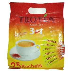 تصویر شیر و چای کرک زعفرانی ترو تی 3*1