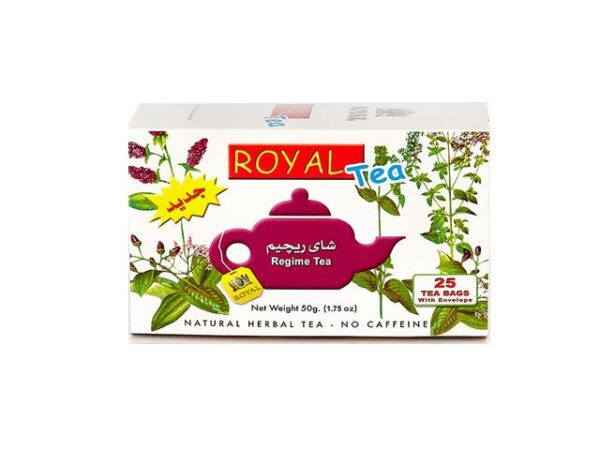 تصویر چای رژیمی زویال