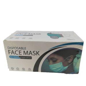 تصویر ماسک سه لایه خارجی 50 عددی