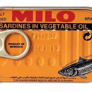 تصویر تن ماهی میلو