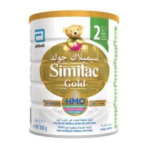 تصویر شیر خشک سیمیلاک گلد شماره ۲ – ۸۰۰ گرمی