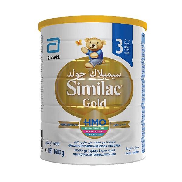تصویر شیر خشک سیمیلاک SIMILAC مدل گلد شماره ۳ – ۸۰۰ گرمی