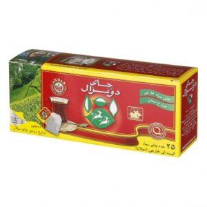 تصویر چای دوغزال تی بگ 25 عددی عطری