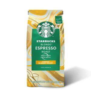 تصویر دانه قهوه اسپرسو بلوند استارباکس - ۲۰۰ گرم