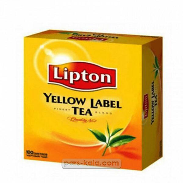 چای لیپتون تی بگ