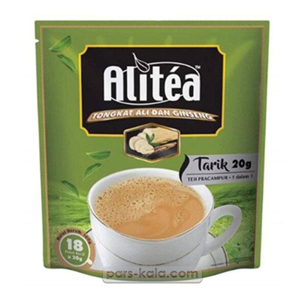 شیر و چای علی تی جنسینگ دار