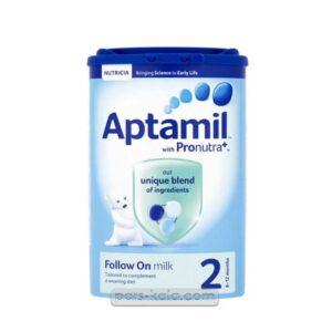 شیر خشک آپتامیل شماره ۲ – ۸۰۰ گرمی