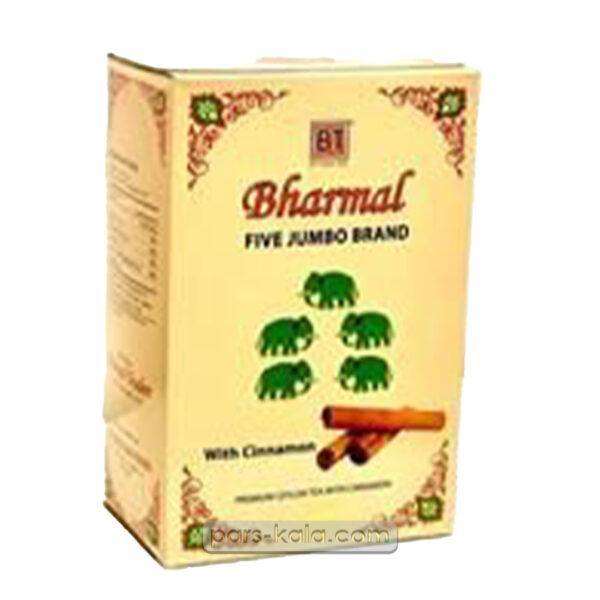 چای بارمال پنج فیل دارچین