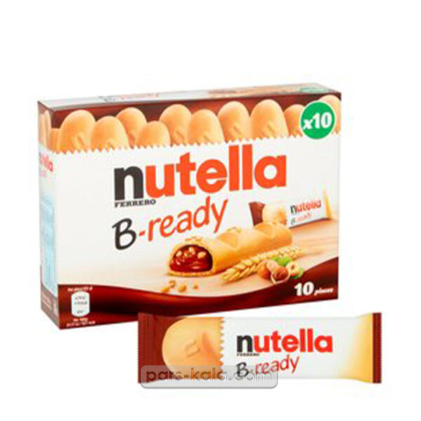 شکلات نوتلا بریدی بسته 10 عددی