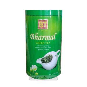 چای بارمال سبز قوطی گل یاس