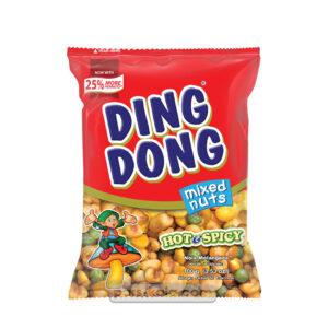 اسنک میکس دینگ دونگ با طعم تند 100 گرم Ding Dong