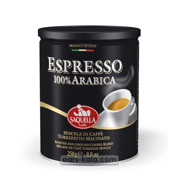 ایتالیا اسپرسو اسیاب شده 100 درصد عربیکا