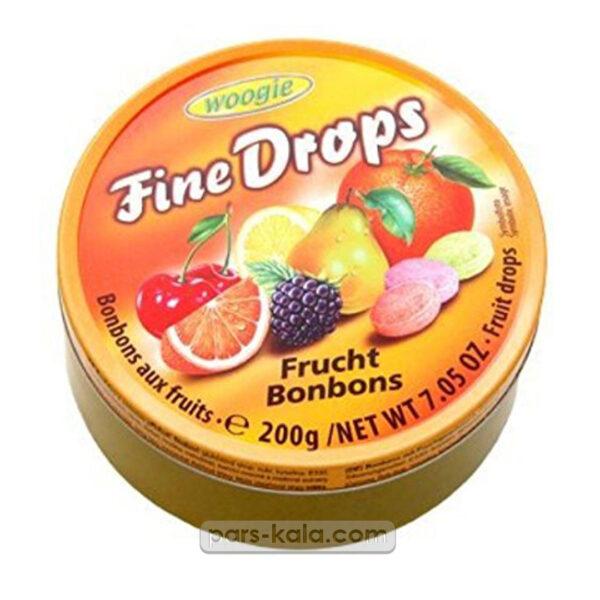 ابنبات قوطی 200 گرم مخلوط میوه ها