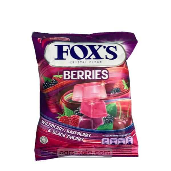ابنبات فوکس 90 گرم میوه های قرمز