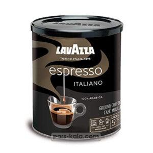 قهوه لاوازا سیاه اسپرسو 250 گرم قوطی