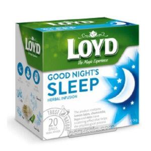 دمنوش دارویی کمک به خواب راحت لوید