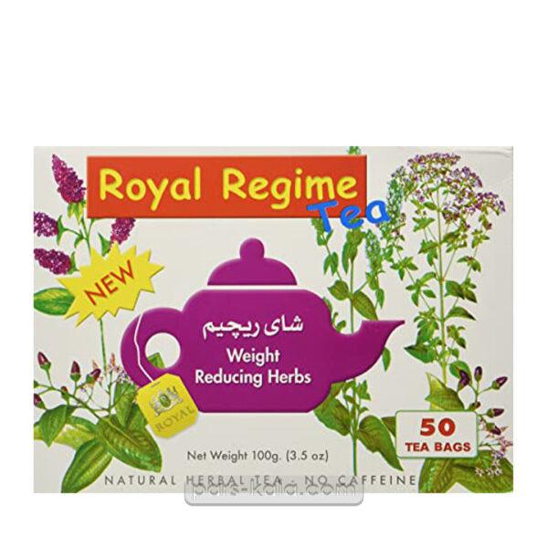 چای رویال رژیمی 50 عددی
