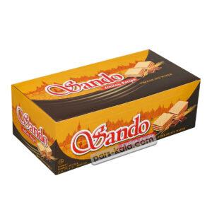ویفر ساندو شکلاتی بسته 24عددی