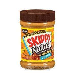 کره بادام زمینی اسکیپی خامه ای با عسل