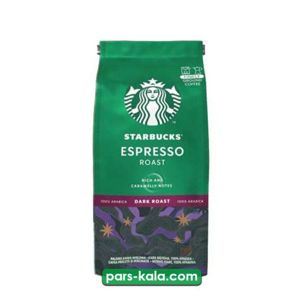 تصویر پودر قهوه استارباکس اسپرسو قوی و خامه ای